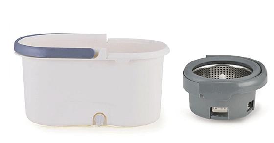 DUVERRA Plastic 360 Magic Spin Mop and Bucket