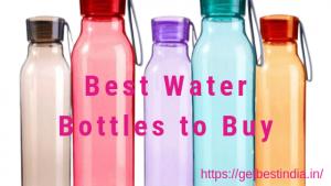 20 Best Reusable Water Bottles Brands in India 2021