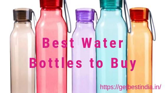 16 Best Reusable Water Bottles Brands in India 2020