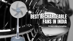 10 Best Rechargeable Fan in India 2020
