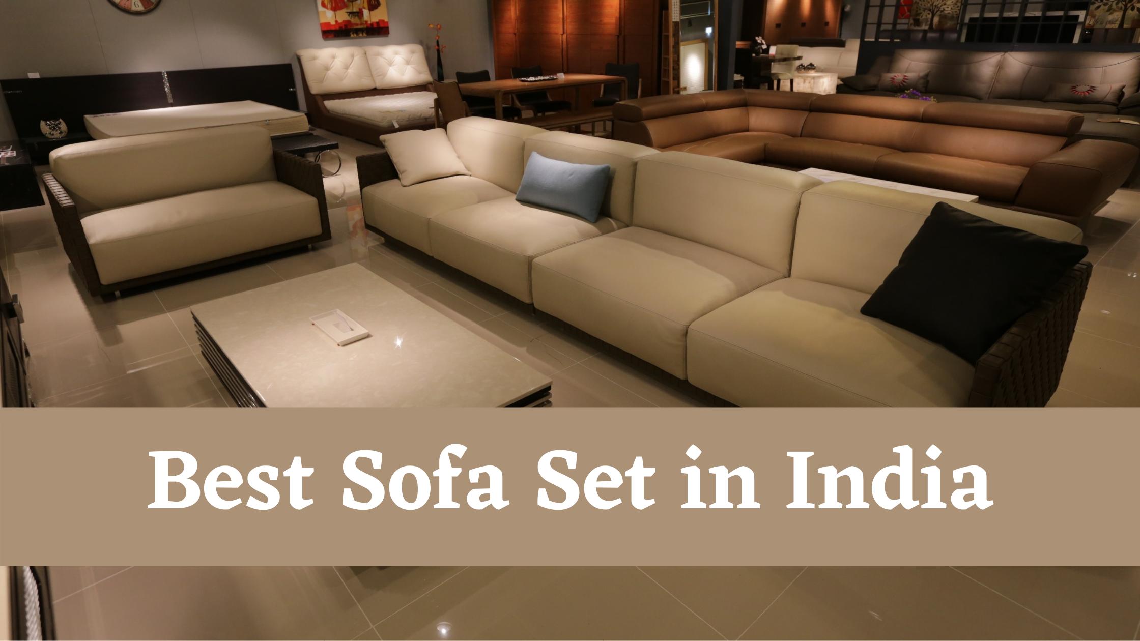 25 Best Sofa Set in India 2020